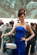 中华高贵美女车模