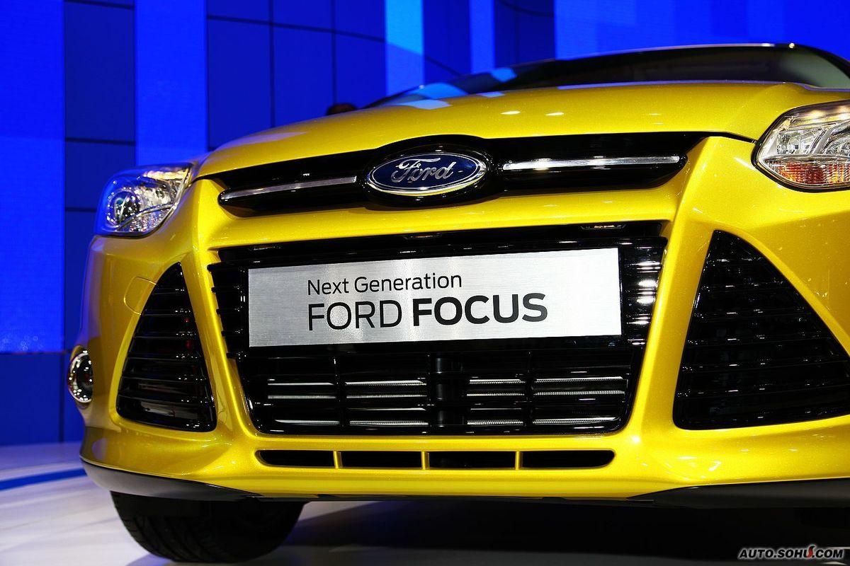 福特_长安福特马自达_福克斯两厢-新一代福克斯车展
