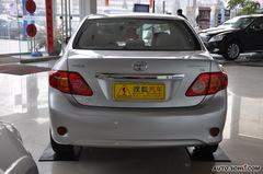 丰田卡罗拉1.6L GL 自动天窗特别版正后图片