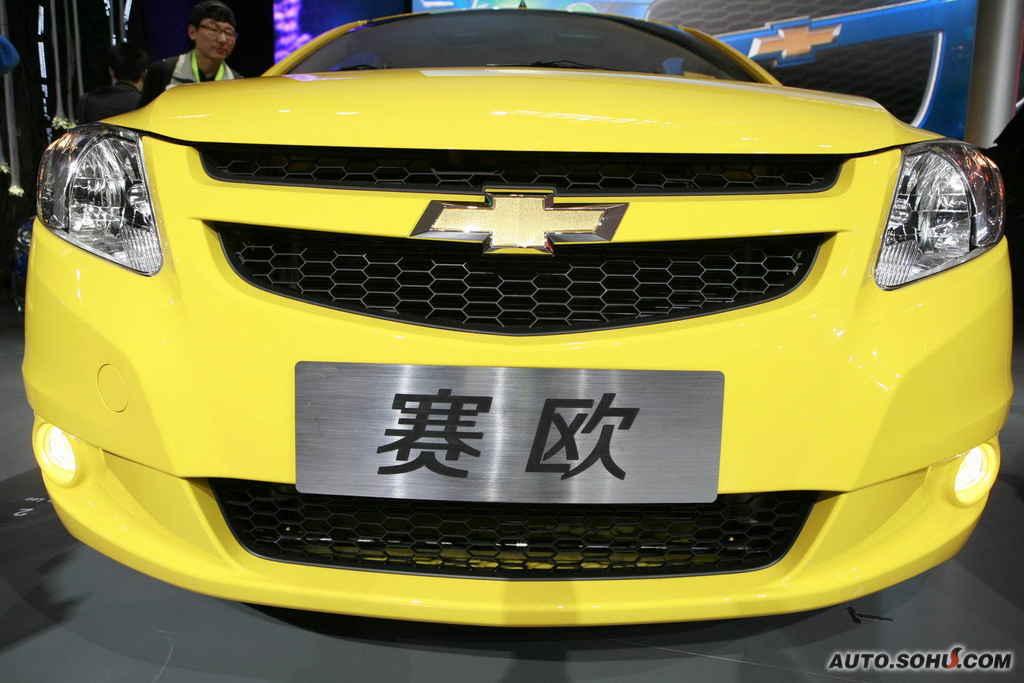 雪佛兰 上海通用 赛欧两厢 赛欧两厢车展实拍