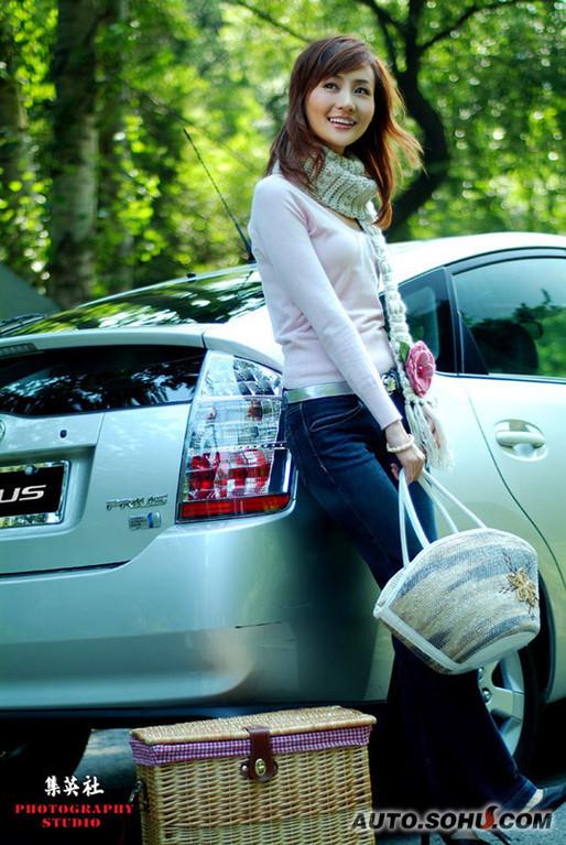 王琳娜_车展模特_2010北京车展-搜狐汽车