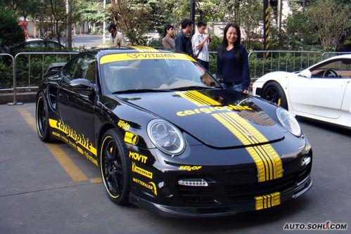 国内仅售1台 日式改装版f43o/保时捷911