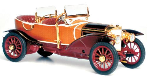 两部非常珍贵的木头汽车模型