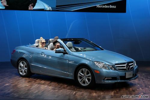奔驰 E Cabriolet 实拍 外观 [跑车] 图片