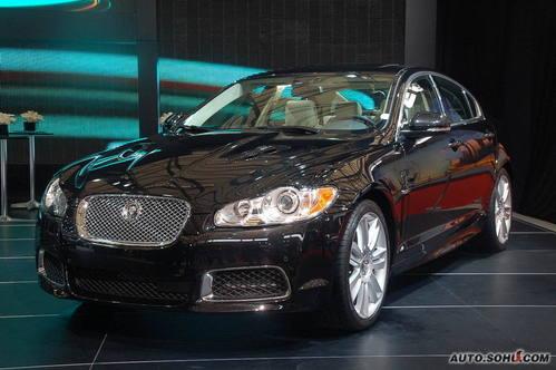 捷豹 XF 实拍 外观 中大型车 70万元以上 图片