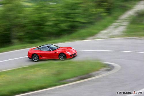 法拉利 599 实拍 评测 图片