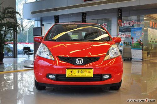 2010款本田飞度1.3L 自动舒适版