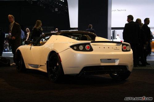 Tesla Roadster 实拍 外观 [首发] [跑车] 图片