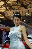 2009上海车展比亚迪车模