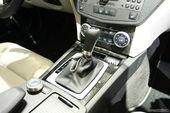 奔驰C300车展实拍