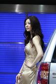 2009上海车展斯巴鲁车模