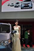 五菱汽车美女车模