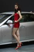 2009上海车展凯迪拉克模特