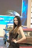 2009上海车模力帆车模