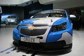 雪佛兰科鲁兹WTCC赛车09上海车展实拍