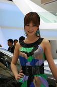 2009上海车展 斯柯达华丽车模
