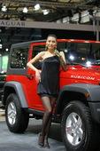 2009上海车展吉普车模
