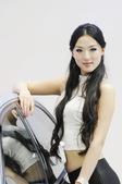 2009上海车展北京现代模特