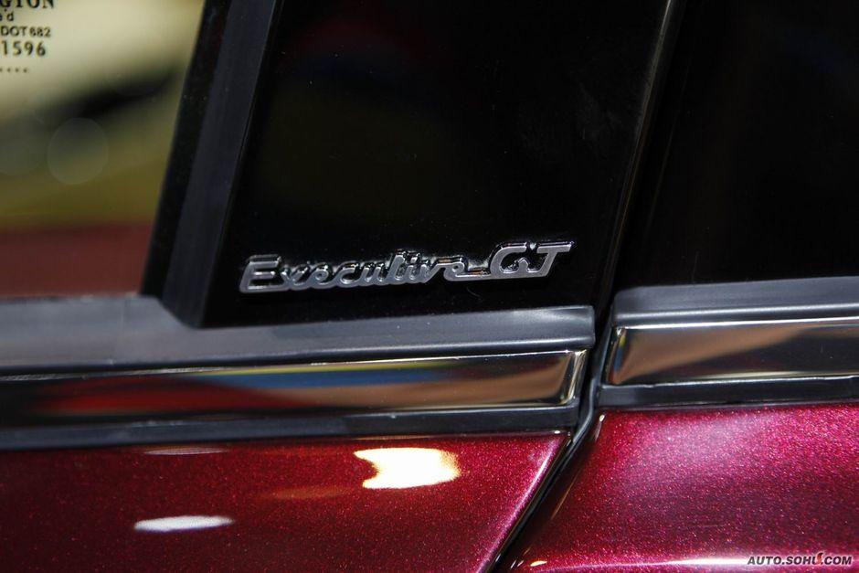 玛莎拉蒂 玛莎拉蒂 总裁 玛莎拉蒂总裁行政版车展实拍 车高清图片