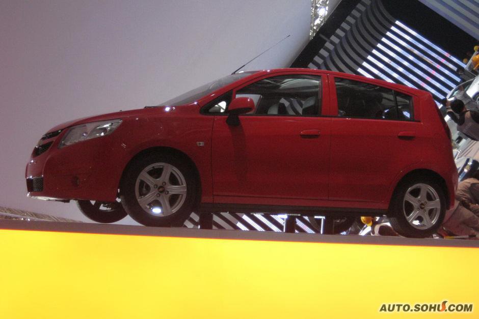 雪佛兰 上海通用 赛欧两厢 雪佛兰新赛欧两厢EMT车展实拍 车展车型
