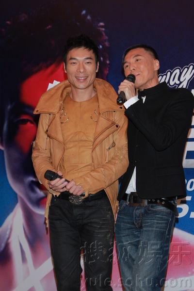 许志安首次公开与郑秀文复合 演唱会在即