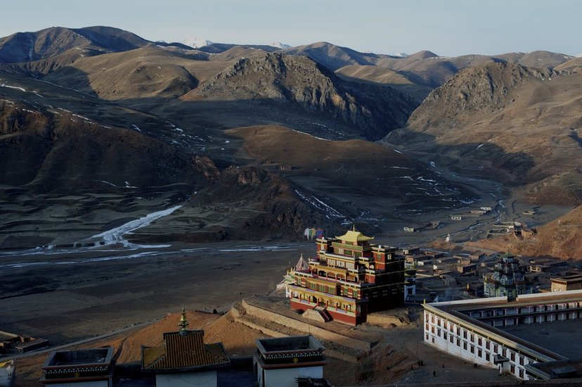 青海玉树藏族自治州震前照片