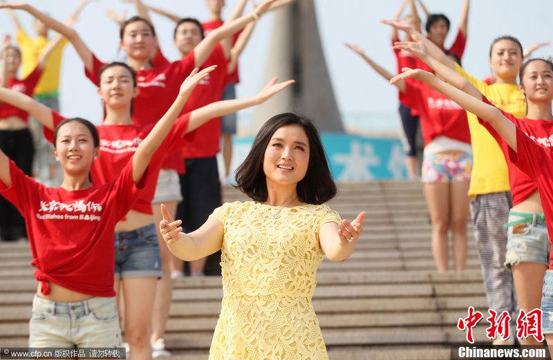 高清 成龙携众星献唱奥运歌曲 北京祝福你