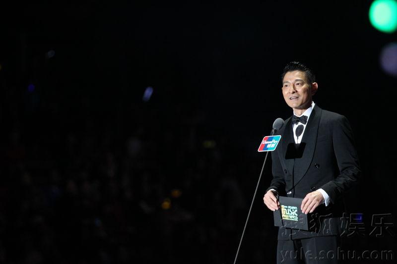 2014MAMA颁奖礼 EXO获四奖 刘德华被赞最帅欧巴