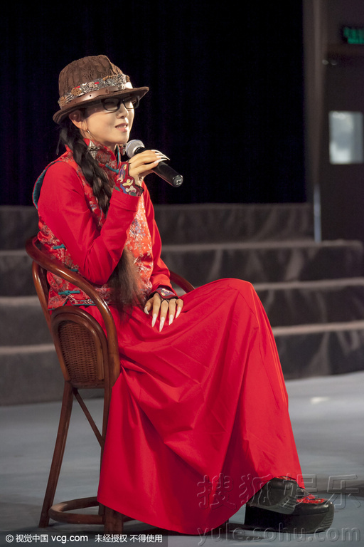 为12月4日即将在盐城表演的《孔雀》舞蹈宣传造势.当天,杨丽萍