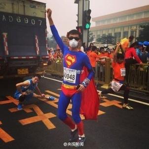 2014年10月19日,2014北京国际马拉松隆重举行,3万多人从天安门图片