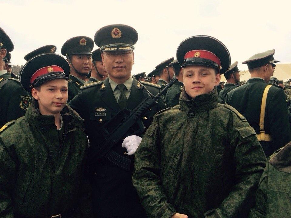 准,由中国人民解放军三军仪仗队抽组的112人方队已于4月25日启
