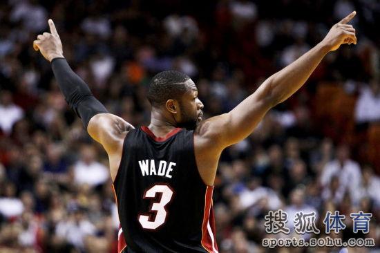 新秀赛季就进入季后赛,06年时候韦德帮助热火队夺得NBA总冠军.图片