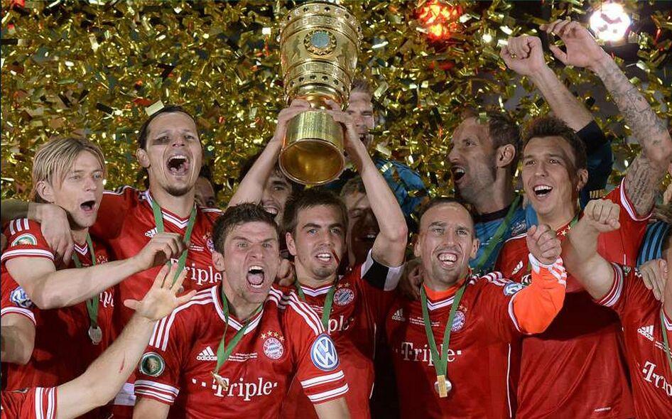 13赛季,拜仁卷土重来再次杀进欧冠决赛,并最终在温布利球场击败