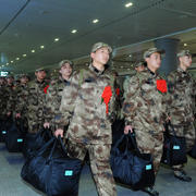 今年首批进藏新兵集结