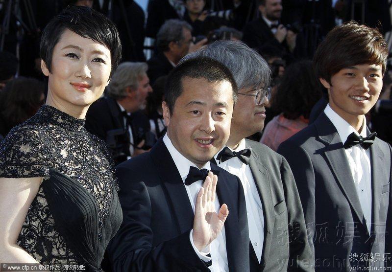 第66届戛纳电影节互动贾樟柯与赵涛亲密闭幕汤尼的电影图片