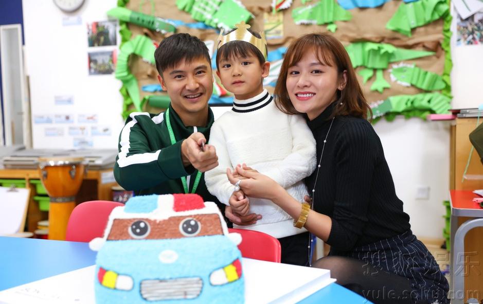 超幸福!小亮仔一家幼儿园温馨过生日-娱乐频道