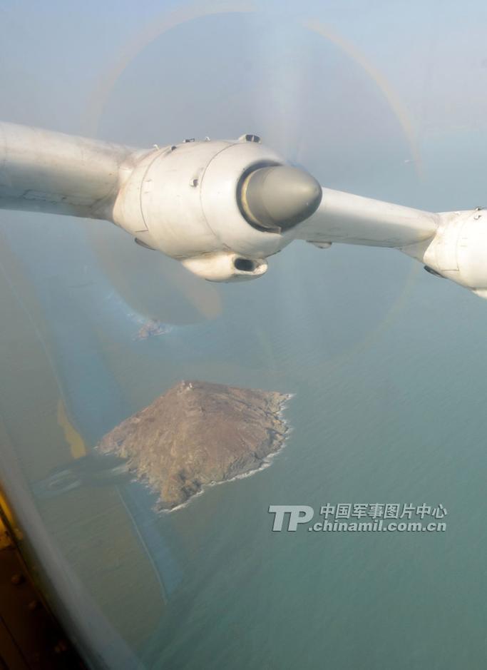 图解解放军水上飞机部队:侦查岛屿反潜突袭