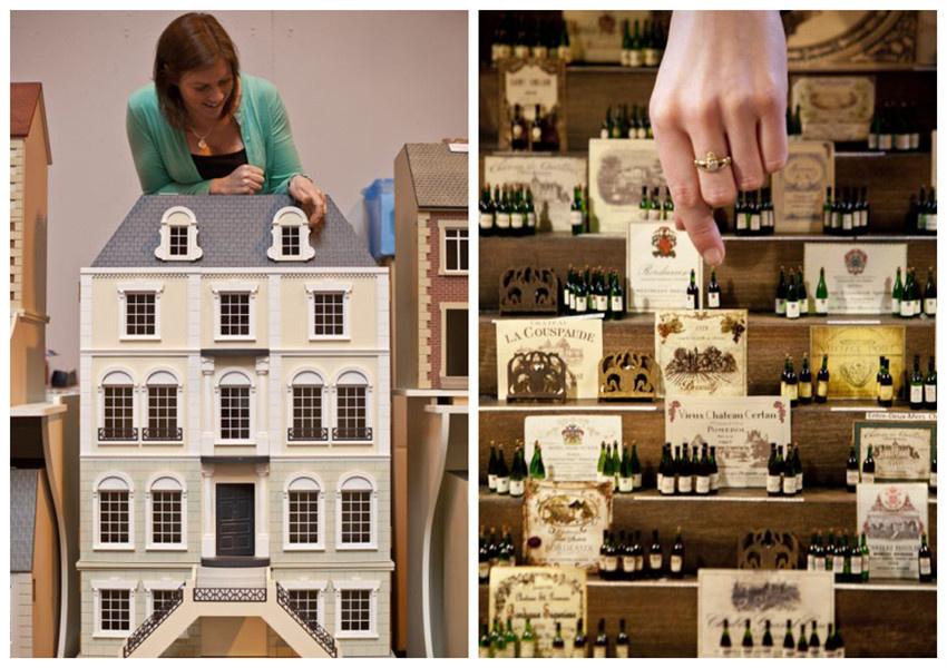 据英国《每日邮报》,英国伯明翰国家展览中心举办了微型工艺品展览会,各种各样的工艺品栩栩如生,令前来观看的人叹为观止,直呼不可思议。   据悉,这个微型展览会始于1983年,是目前世界上最大的微型工艺品盛事之一。今年,超过2000个国际参展商参加了此次展会。展会上的艺术品囊括了各种现实世界中存在物品的缩小版,例如酒瓶、火车、房屋、书架、甚至是美味佳肴等。其中好多形象逼真,小巧灵活的一次性杰作需要一个月的时间进行制作,超过80%的工艺品值得购买收藏。   就这次展览会,伯明翰一名官员在社交网站脸谱上写道: