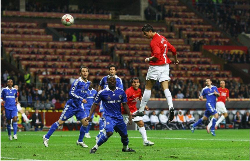 体育 国际足球 欧战  2007-2008赛季  欧冠决赛 曼联点球胜切尔西图片