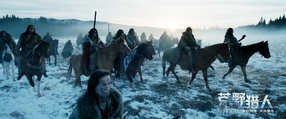 荒野獵人 北京點映 萊昂納多搏命演出