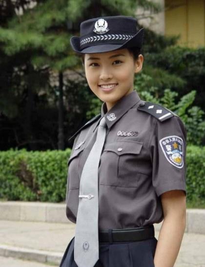 中国最美女教官 娇容酷似章子怡
