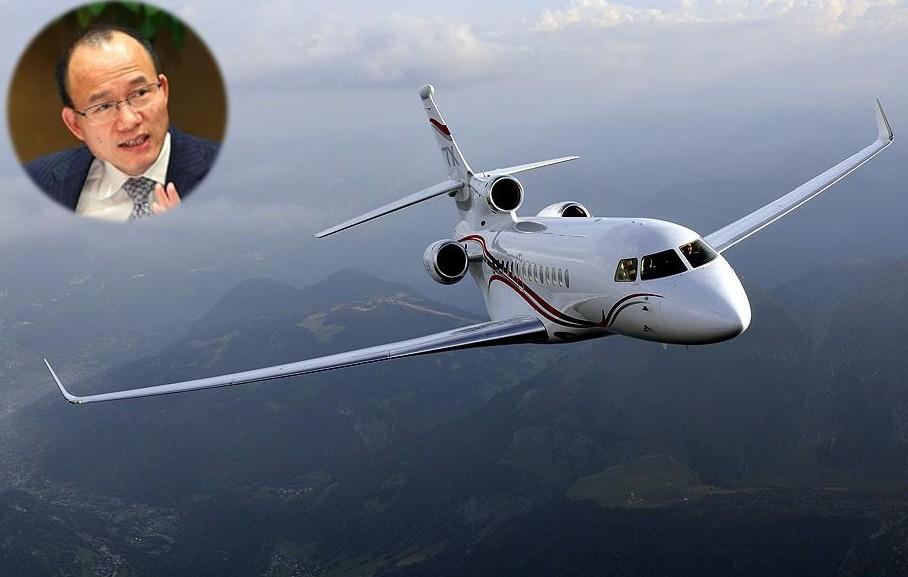 2013年亚布力中国企业家论坛,郭广昌邀请马云,乘坐自己的私人飞机猎鹰