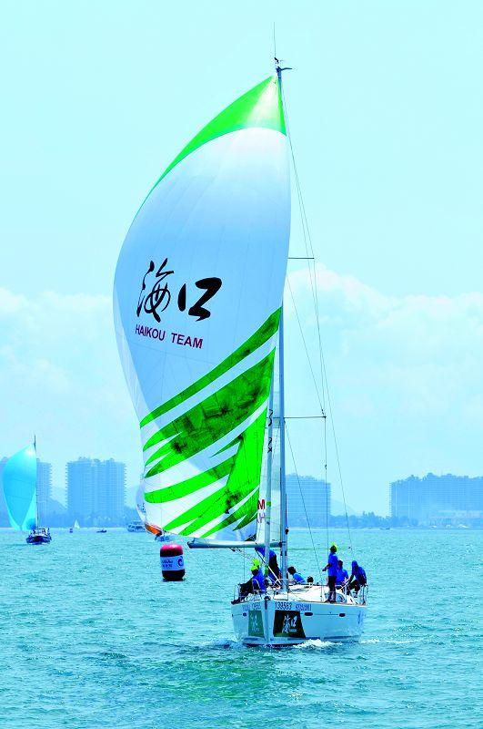 高清:环海南岛大帆船赛开赛在即 选手乘风破浪