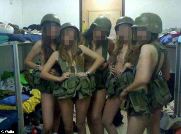 以色列女兵发布内衣不雅照遭罚