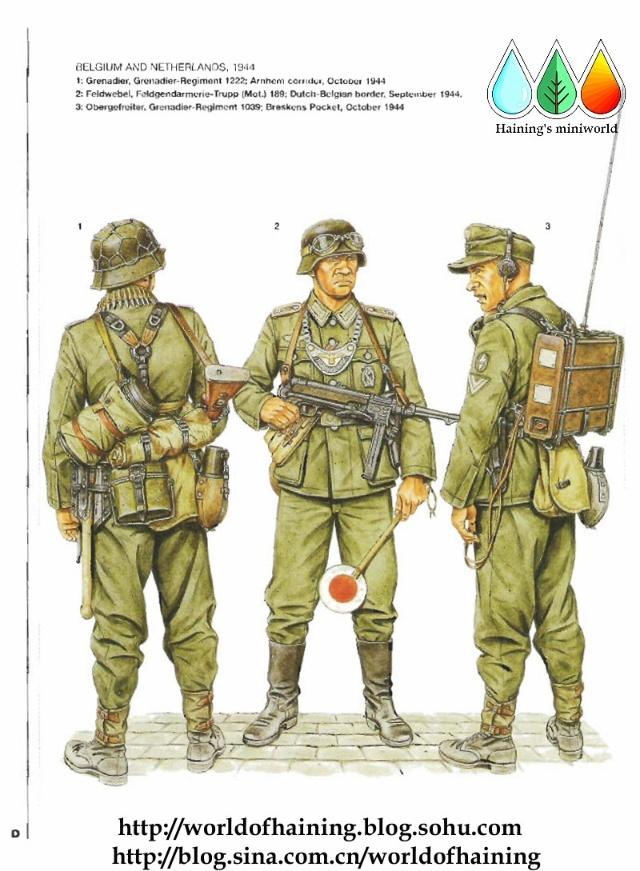 二战德国陆军军服图册 西线