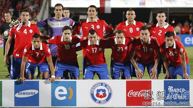 巴西世界杯智利队