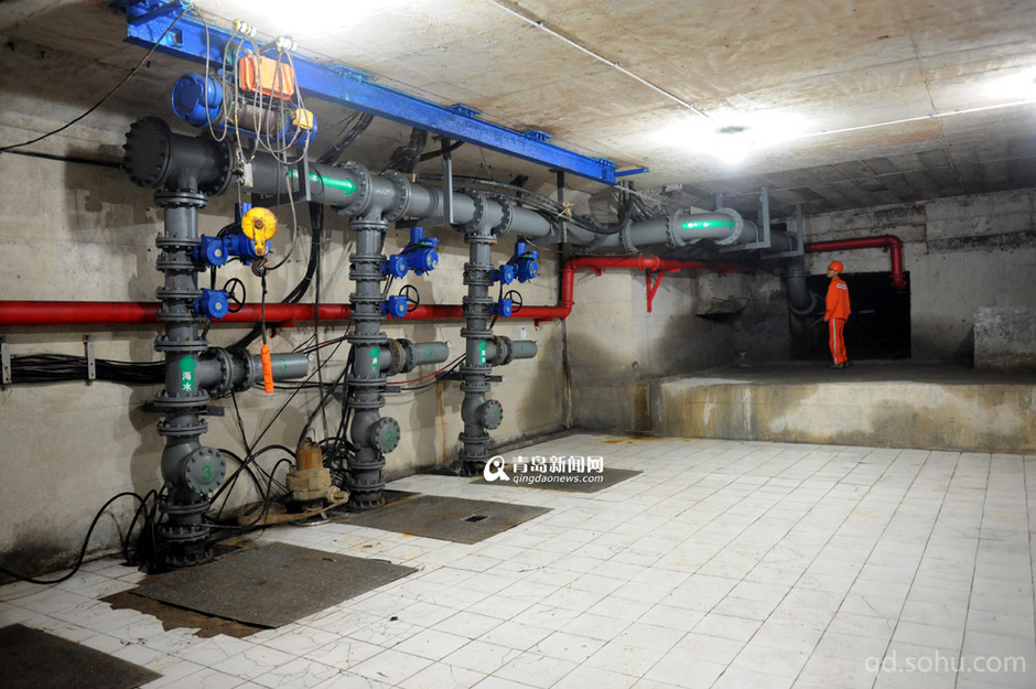 小区水泵房安装系统的接线图