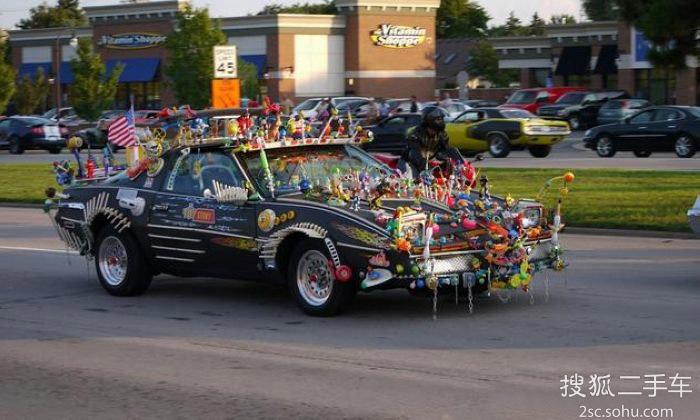 那些奇葩的汽车改装