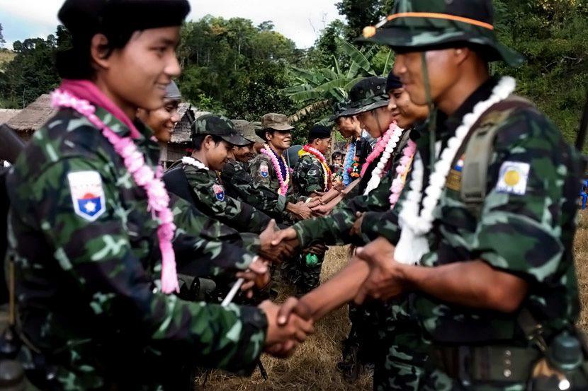 缅甸的中国雇佣军