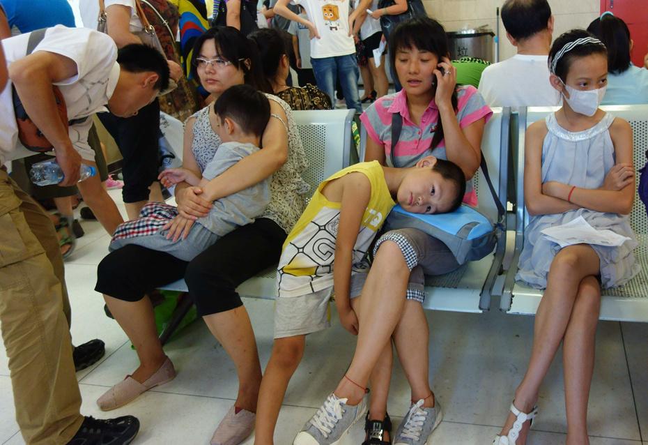 北京儿童医院暑期挂号难